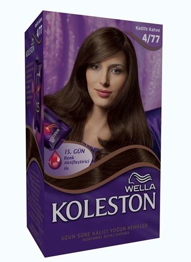 Koleston Koleston Kit Saç Boyası 4/77 Kadife Kahve Renkli